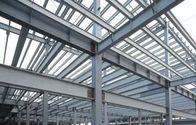 Galvanized H Type Beams & Columns Poultry Farm Structure With Roof Easy To Assemble
