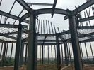 Steel Tower Poultry Farm Steel Structure / Goods Storage Farm Water Tower