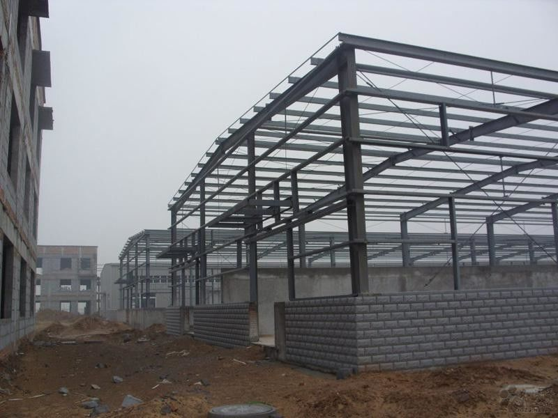Customized Steel Building Structures With H Shape Beams / Columns