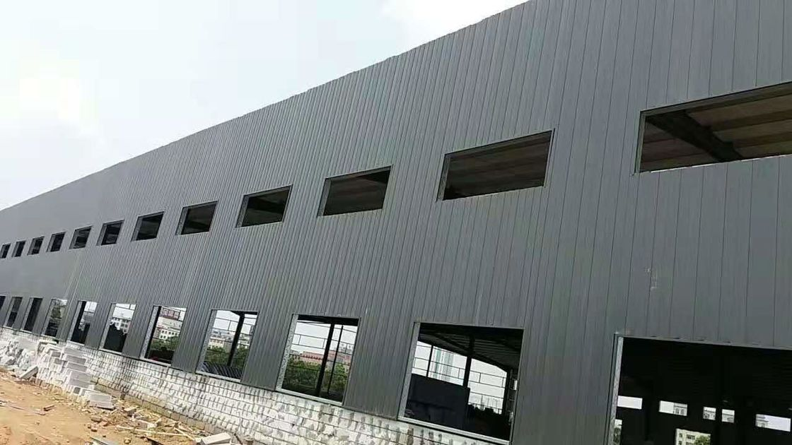 School Dormitory Colored Roofing Z Purlin Building Steel Frame